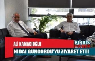 Sanayi Odası Başkanı Ali Kamacıoğlu'ndan Güngördü'ye ziyaret