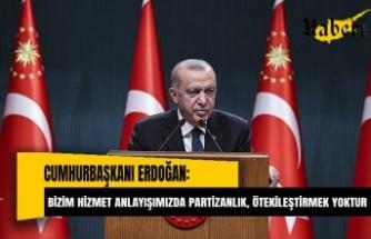 Erdoğan: Cumhur İttifakı olarak 2023'te güven tazeleyerek devam etmek istiyoruz