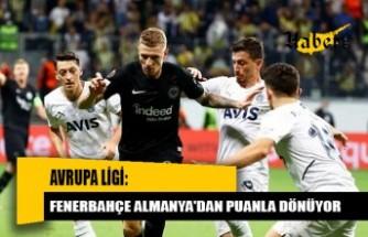 Fenerbahçe, Eintracht Frankfurt takımıyla 1-1 berabere kaldı