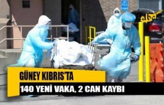 Güney Kıbrıs'ta 140 yeni vaka
