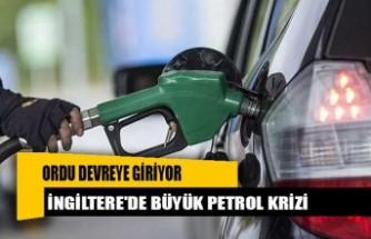 İngiltere'de büyük petrol krizi!