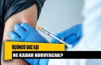 Üçüncü doz aşı ne kadar koruyacak?