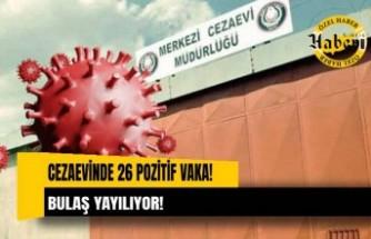 26 mahkûm ve tutuklunun testleri pozitif Karantina oteline yerleştirildiler