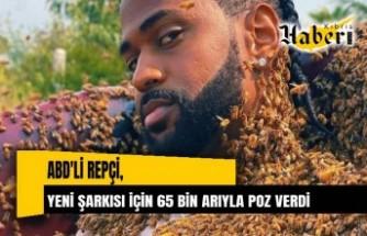 ABD'li rapçi Big Sean yeni şarkısı için 65 bin arıyla poz verdi