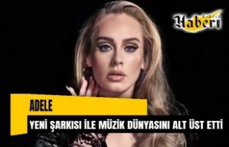 Adele müzik dünyasını altüst etti… 5 yıl sonra çıkardığı ilk şarkı Easy On Me rekorlar kırdı