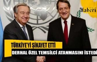 Anastasiadis, Guterres'e bir mektup daha gönderdi