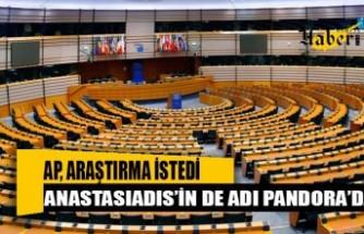 Avrupa Parlamentosu'nun Pandora Papers araştırmasında Anastasiadis'in de adı geçiyor