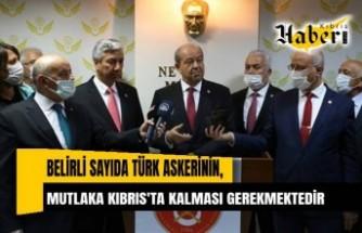 Cumhurbaşkanı Tatar'dan açıklama...