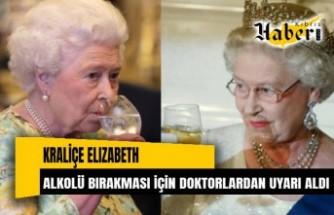 Doktorlardan 95 yaşındaki Kraliçe Elizabeth'e 'alkolü bırak' uyarısı