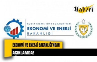 Ekonomi ve Enerji Bakanlığı'ndan açıklama