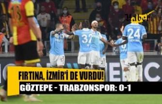Trabzonspor, Göztepe'yi tek golle geçerek liderliğini sürdürdü