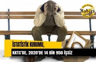 İstatistik Kurumu tarafından hazırlanan resmi rakamlar korkutucu 2020'de 14 bin 950 işsiz