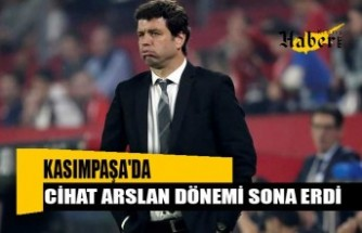 Kasımpaşa'da teknik direktör Cihat Arslan'la yollar ayrıldı