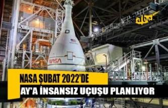 NASA Şubat 2022'de Ay'a insansız uçuş gerçekleştirmeyi hedefliyor