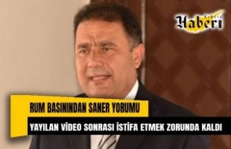 Rum Basını: Kıbrıslı Türk Başbakan yayılan video sonrası istifa etmek zorunda kaldı