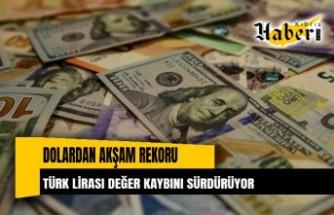 Türk Lirası değer kaybını sürdürüyor