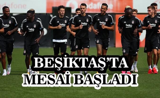 Beşiktaş, Gençlerbirliği mesaisine başladı