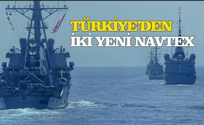 Türkiye'den Doğu Akdeniz'de 2 yeni Navtex kararı