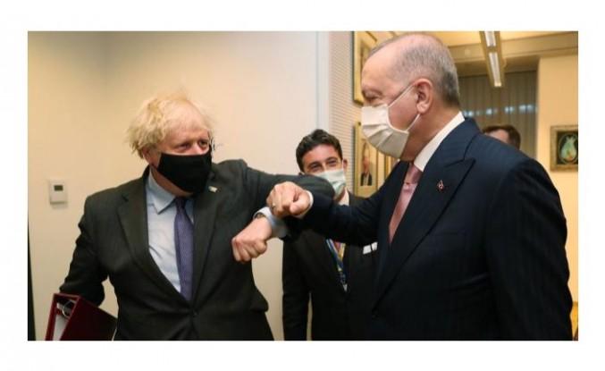 Erdoğan, Johnson görüşmesi başladı