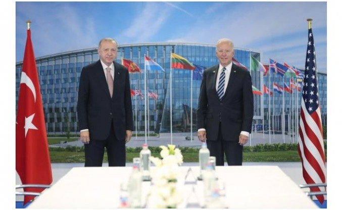 Erdoğan, NATO Zirvesi'nin ardından basın toplantısı düzenledi.