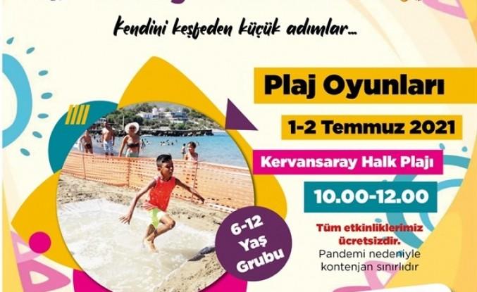 Girne Belediyesi Çocuklar İçin Plaj Oyunları Düzenliyor