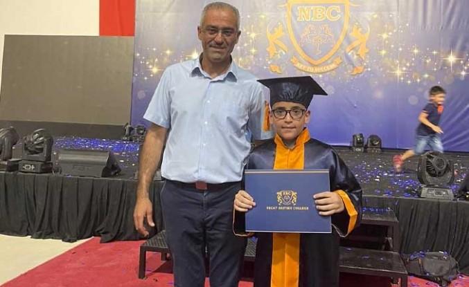 Necat British Koleji öğrencilerine Muhteşem mezuniyet töreni
