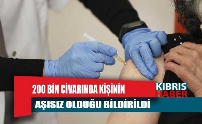 Güney Kıbrıs'ta 200 bin civarında kişinin aşısız olduğu bildirildi