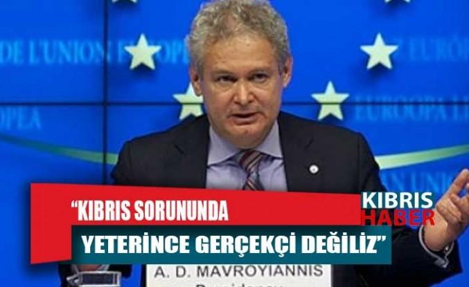 Mavroyannis: Kıbrıs sorununda yeterince gerçekçi değiliz