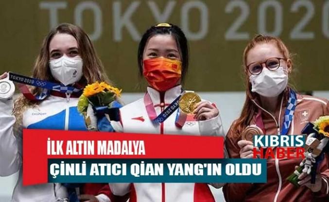 Tokyo Olimpiyatları'nda ilk altın madalya Çinli atıcı Qian Yang'ın oldu