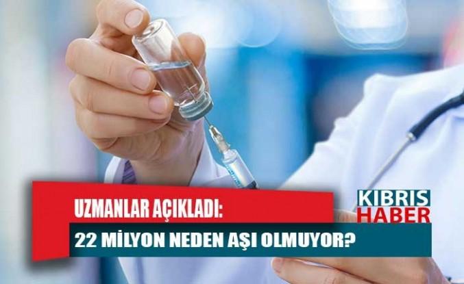 Uzmanlar yanıtladı: 22 milyon neden aşı olmuyor?