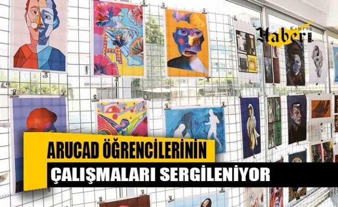 ARUCAD öğrencilerinin çalışmaları sergileniyor