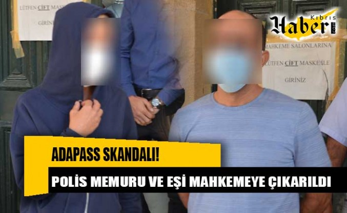 Polis memuru ve eşi mahkemeye çıkarıldı