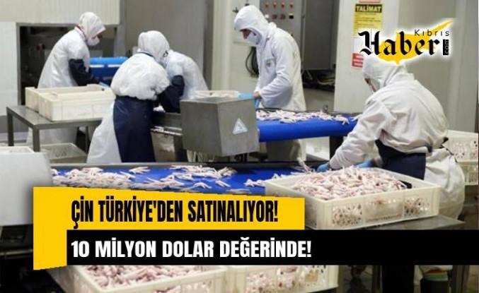 Çin Türkiye'den satın alıyor! 10 milyon dolar değerinde