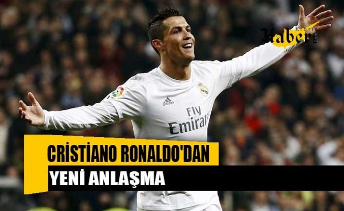 Cristiano Ronaldo'dan yeni anlaşma