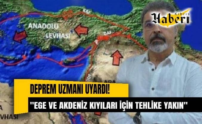Deprem uzmanı tehlikeye dikkat çekti: Ege ve Akdeniz kyıları için tehlike…