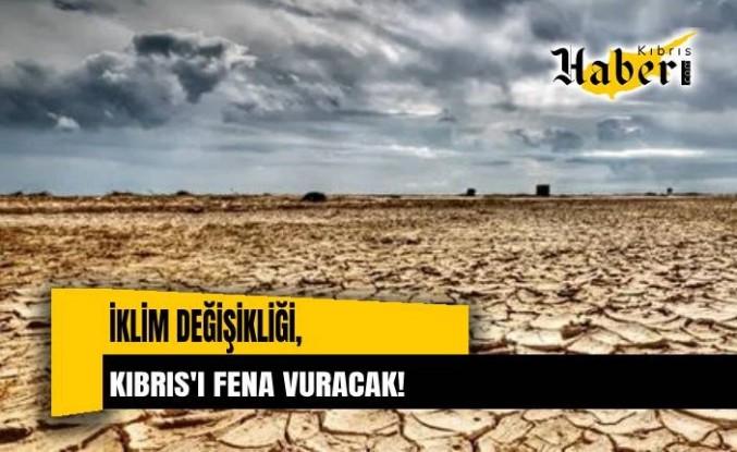 Kıbrıs, aşırı sıcaklık, şiddetli yağış ve kuraklık gibi uç iklim olaylarında en çok artış görülen ülkeler arasında bulunuyor