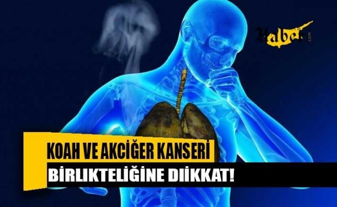 KOAH ve akciğer kanseri birlikteliğine dikkat!