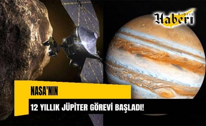 NASA'nın 12 yıl sürecek Jüpiter görevi başladı