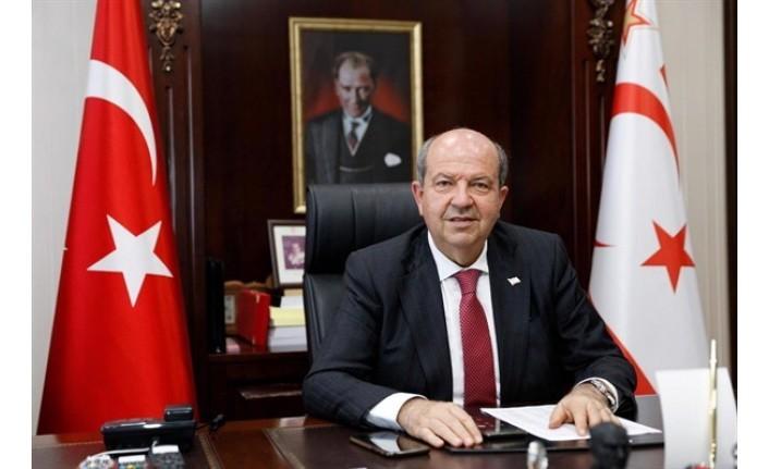 """Cumhurbaşkanı Tatar: """"Tüm halkımın ramazan bayramını kutlar esenlikler dilerim"""""""
