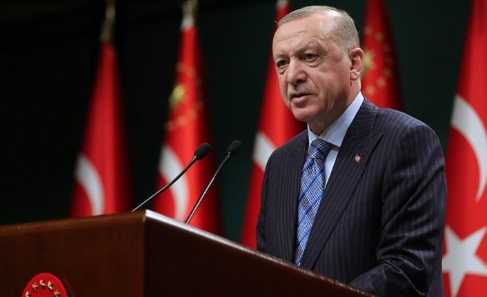 """Erdoğan: """"Aşı faaliyetlerine hız veriyoruz"""""""
