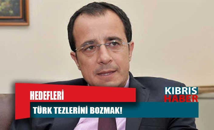 Hedefleri Türk tezlerini bozmak!