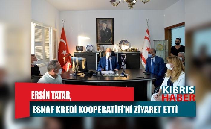 Tatar, Esnaf Kredi Kooperatifi'ni ziyaret etti