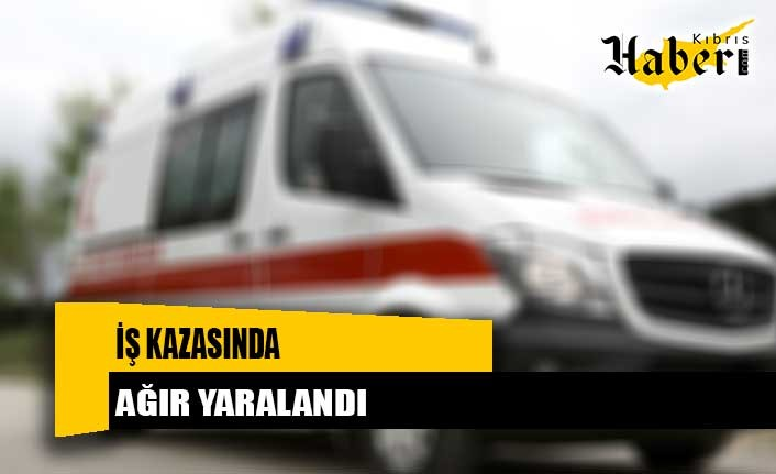 23 yaşındaki şahıs ağır yaralandı